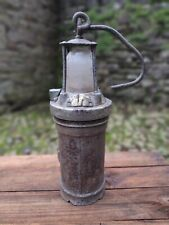 c1930's Vintage Miners Lamp - Concordia Electric Safety Lamp Co Cardiff