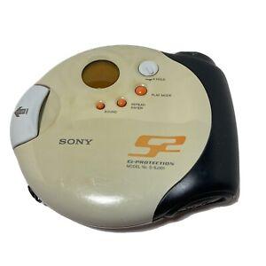 PARTS ONLY Sony Walkman Sports Model D-SJ301 CD Discman Won't Read Disc AS IS