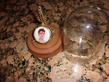 Vintage (?) Gold Plated (?) Elvis Presley, Love me Tender, Musical Pocket Watch~