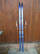 "New listing Ready to Use Cross Country 70"" Long Karhu 180 cm Snow Skis + Salomon Bindings"