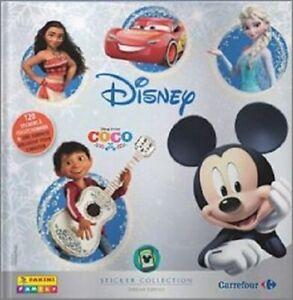 "Album stickers Panini vide et neuf ""Disney Carrefour Panini Family 2017"""