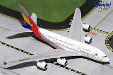 GEMINI JETS ASIANA AIRLINES AIRBUS A380-800 1:400 GJAAR1642 IN STOCK