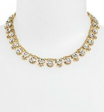 Kate Spade Gold Plated Palace Gems Necklace $228 New WBRU7719 New 098686494800