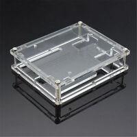 Transparent Acrylic Case Shell Enclosure Computer Box For Arduino  R3 PO