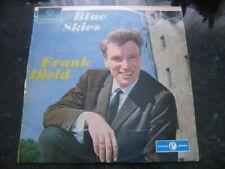 Frank Ifield Vinyl Record Album Blue Skies Columbia SOEX9362