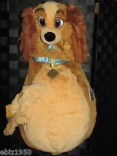 Kids Disney Lady Puppy Dog Cocker Spaniel Soft Plush Deluxe Costume 6/12 M New