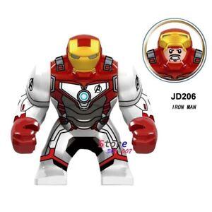 Single Endgames Big infinity wars super hero iron man building blocks Kid Toys