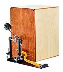 Ortega Percussion Cajon Bundle inc pedal & gigbags - OSTBCJ-L-BU