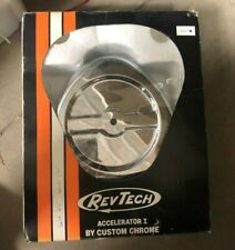 Revtech Air Cleaner Chrome finish Accelerator 1