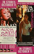 "Alicia Keys ""Unplugged & Songs In A Minor"" 2 U.S. Promo Posters / Banners"