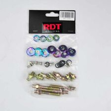 B16A B18C VTEC GSR TYPE-R NEO CHROME ENGINE VALVE COVER BOLT WASHER DRESS KIT