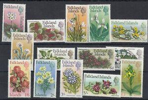 Falkland Islands QEII 1968 Flowers Set SG232/245 MLH JK5614