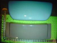 kohler toilet tank lid cover ROCHELLE k4539 k 4539 TAN BROWN MEXICAN SAND ? #1