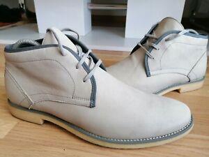 STRELLSON Edel Boots Hi Top Schuhe Outdoor Freizeit Stiefel Wandern Gr 45 TOP