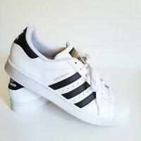 Adidas Superstar White & Black Men size 10.5