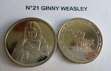 Pièce N°21 GINNY WEASLEY neuve / coin jeton pour album Harry Potter GRINGOTTS