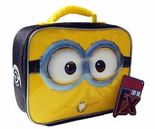 Despicable Me Minions Sound Fx LeadSafe Insulated Talking Lunch Tote Box Kit $20