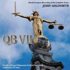 QB VII - 2 x CD Complete Score - Limited Edition - Jerry Goldsmith