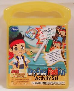 Cards JAKE AND THE NEVERLAND PIRATES Case Dry-Erase Activity Set  Flash Deck