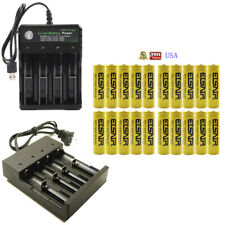 USA 2800mAh 14500 Battery 3.7v Rechargeable Battery for flashlights headlamps