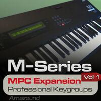 KORG M1 MPC EXPANSION PROGRAMS & KEYGROUPS READY T PLAY AKAI MPC FORMAT DOWNLOAD