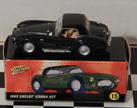 Johnny Lightning 60s Sizzle 1965 Shelby Cobra 427 Real Wheels Muscle Car Loose