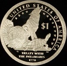 2013 S Native American Sacagawea Golden $1 Dollar Gem Proof Deep Cameo Roll (20)