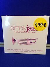 NEW SEALED Various Artists - Simply Jazz (2004) Miles Davis Jamie Cullum Teal CD
