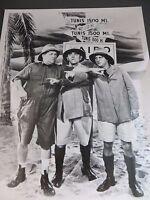 1930s The Three Stooges Larry Moe Curly Explorer Scene Still Photo Print #525