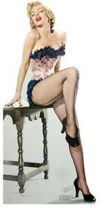 Marilyn Monroe Sexy Bas Taille Réelle Découpe Carton