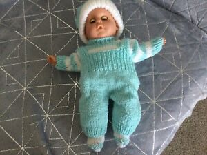 hand knitted dolls clothes 12 Inch Doll