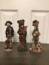 """Lot Of Three """"Boyd Bears And Friends"""" Folkstone Collection"""