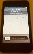 Apple iPod Touch Model No.A1288 1st Generation 8Gb Black -Used And Old