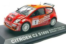 Rally Collection Altaya Citroen C2 S1600 Fuster Rias 2004 IXO 1/43 cochesaescala