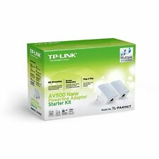 Modem PLC TP-LINK TL-PA411 KIT 2 Nano Powerline 500 mbps AV500 PLCs Red Ethernet