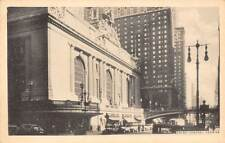 New York City Vanderbilt Ave. Grand Central Terminal cars voitures auto