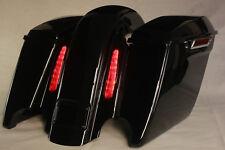 "4.5"" CVO Rear End for 2008 & OLDER Harley -ROAD KING GLIDE STREET GLOSS BLACK CO"