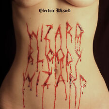 ELECTRIC WIZARD Wizard Bloody Wizard LP White w Red Splatter Vinyl RSD 2018 NEW