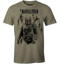 Star Wars - Mandalorian Bounty Hunter Herren T-Shirt (S-XL) Oliv