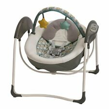 Graco Baby Glider Petite LX Portable Gliding Swing - Botany - New! Free Shipping
