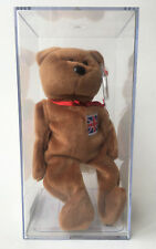 Ty Beanie Baby Britannia UK Excusive Indonesian Patch Flag Authenticated MWMT