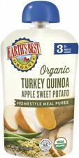 Earth's Best Organic Stage 3 Baby Food Turkey Quinoa Apple Sweet Potato 3.5 6