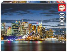 Puzzle Educa 17106 Crepusculo en Sidney, Australia, paisaje, 1000 piezas, teile