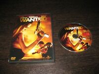 Wanted (Se Ricerca) DVD James Mcavoy Morgan Freeman Angelina Jolie