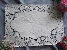 20 pcs ❤ PLACEMAT FANCY WHITE PAPER VICTORIAN FLOWER WEDDING LACE DOILIES TABLE