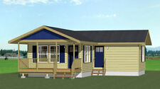 16x30 House -- 705 sq ft -- PDF Floor Plan -- Model 3G