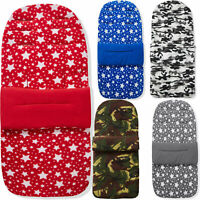 Fleece Pushchair Footmuff / Cosy Toes Compatible with Baby Jogger