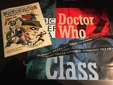 Wondercon 2017 Swag Bag Program Lanyard Dr Who Bag Midnight Texas