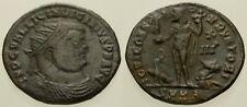 042. Roman Bronze Coin. LICINIUS I. AE-Follis. Heraclea. Jupiter. VF