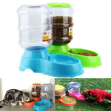 3.5 L Automatic Pet Dog Cat Food Feeder Dispenser Water Drink Bowl Dish Bowl